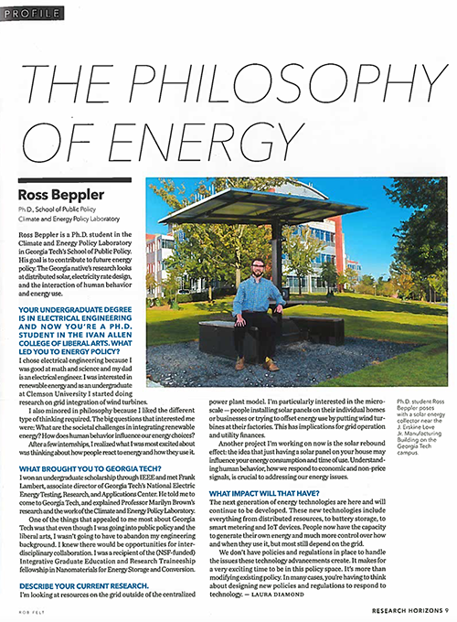 The Philosophy of Energy