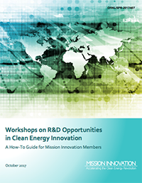 Workshops on R&D Opportunities in Clean Energy Innovation